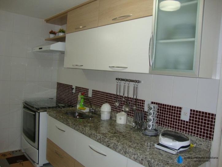 apartamento lindo com 3 quartos, área de lazer. - 12