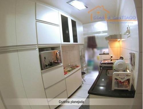 apartamento lindo com móveis planejados - ap1449
