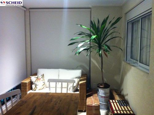 *apartamento lindo com varanda goumert!* - mc713