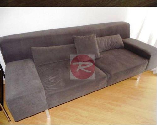 apartamento lindo inteiro mobiliado 62 m² 2 dorm e 2 vagas perto do metro fradique! - ap0119