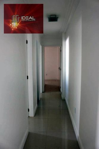 apartamento linear em centro  -  campos dos goytacazes - 6671331701555200
