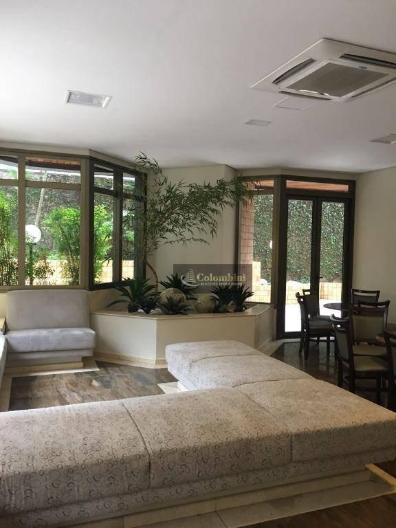 apartamento luxuoso residencial à venda, santo antônio, são caetano do sul. - ap0639
