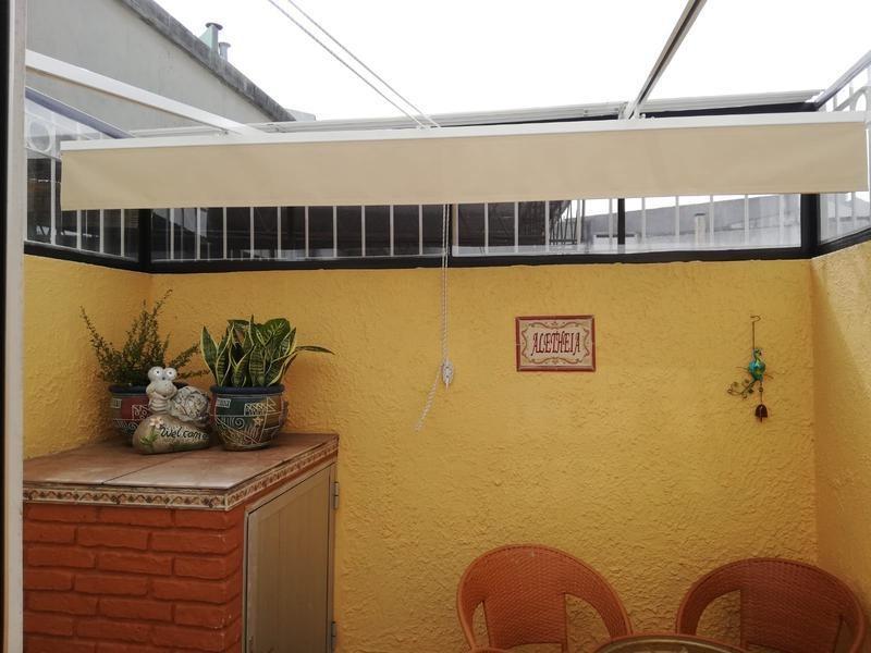 apartamento - malvín. sobre rambla con patio