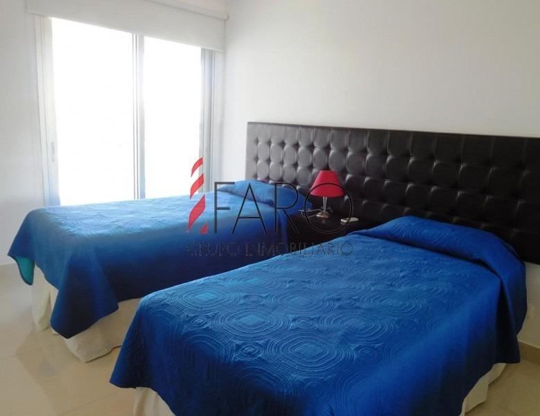 apartamento mansa 2 dormitorios terraza parrillero-ref:34675