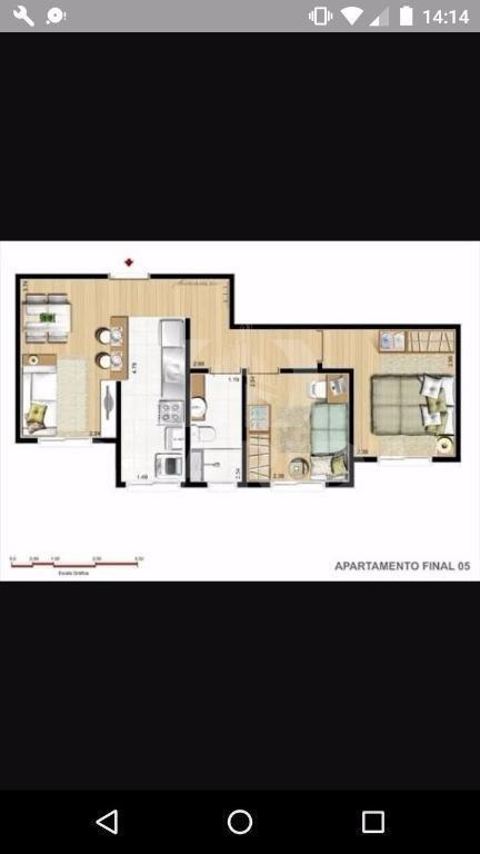 apartamento - mato grande - ref: 53971 - v-53971