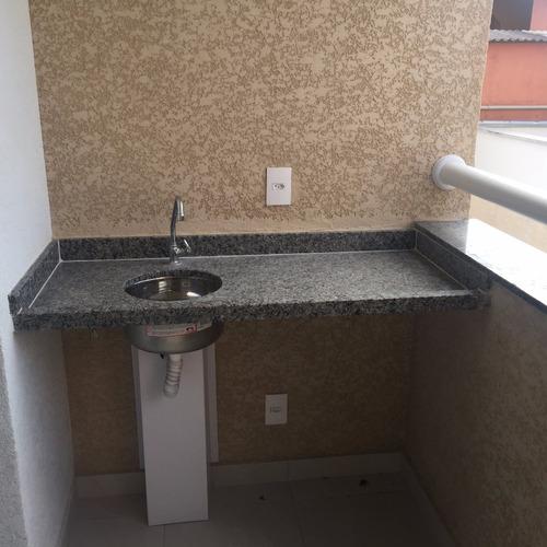 apartamento maua - 03 dorm - 60 m2 - jd pedroso