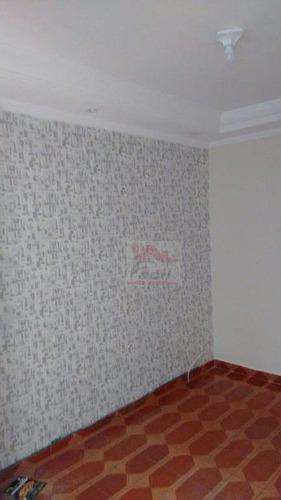 apartamento médio à venda   conj. josé bonifácio, são paulo. - ap0819