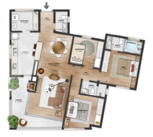 apartamento - menino deus - ref: 185932 - v-185932