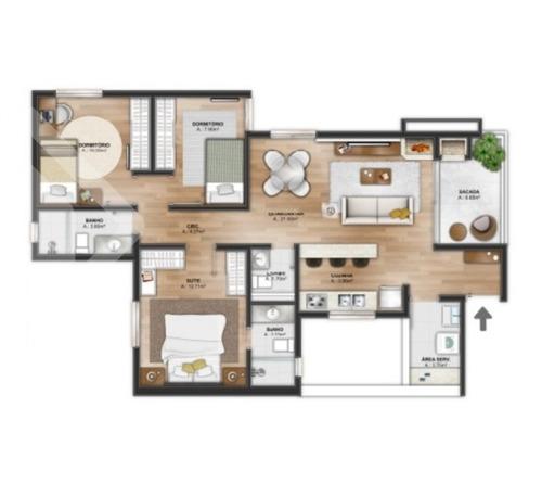 apartamento - menino deus - ref: 185974 - v-185974
