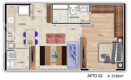 apartamento - menino deus - ref: 219457 - v-219457