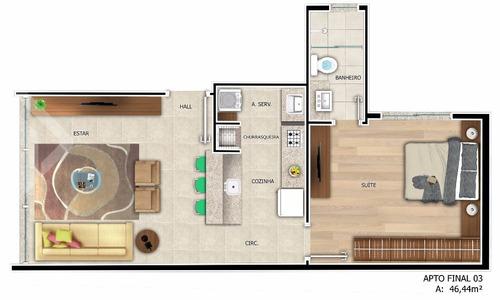 apartamento - menino deus - ref: 220232 - v-220232
