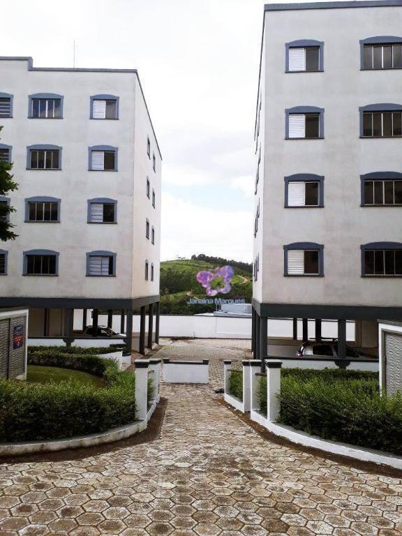 apartamento minha casa minha vida com 53,66 m², villagio serrano, araçariguama/sp. - ap0045
