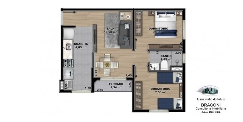 apartamento minha casa minha vida em itaquaquecetuba - 3007