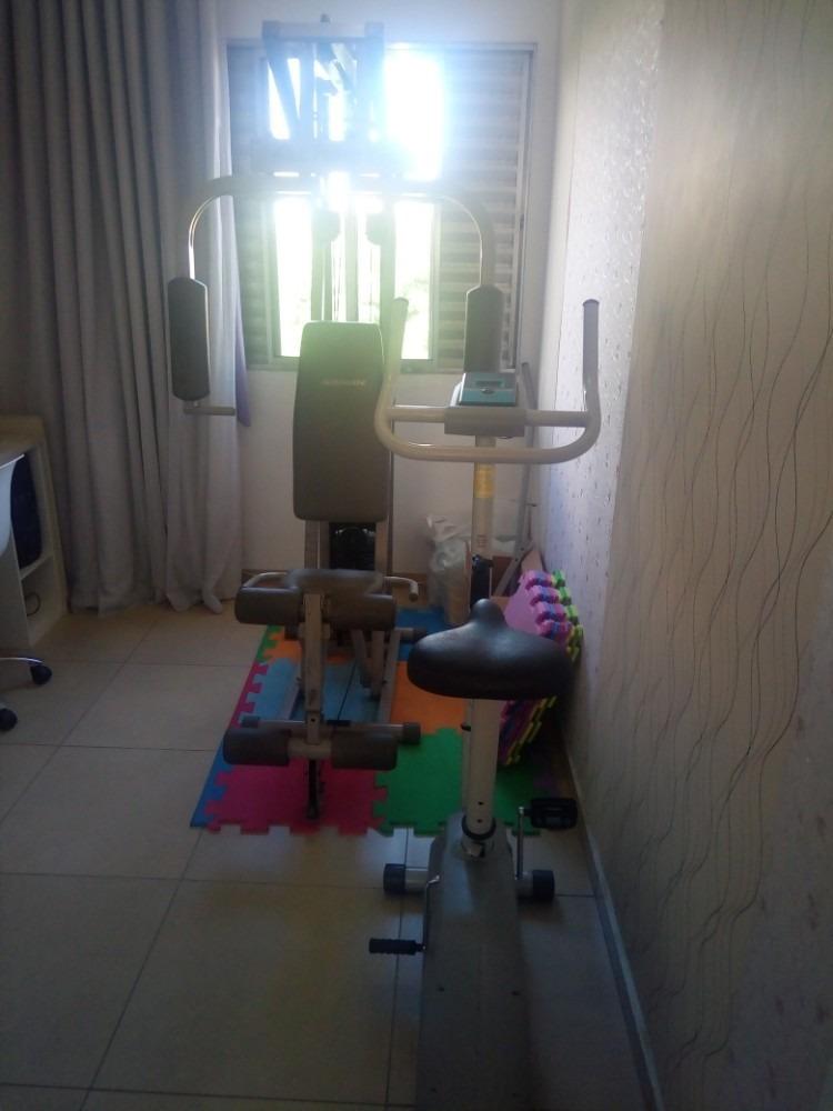apartamento mobiliado  02 dormitórios  01 vaga