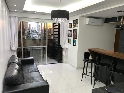 apartamento mobiliado 104m jardim goiás