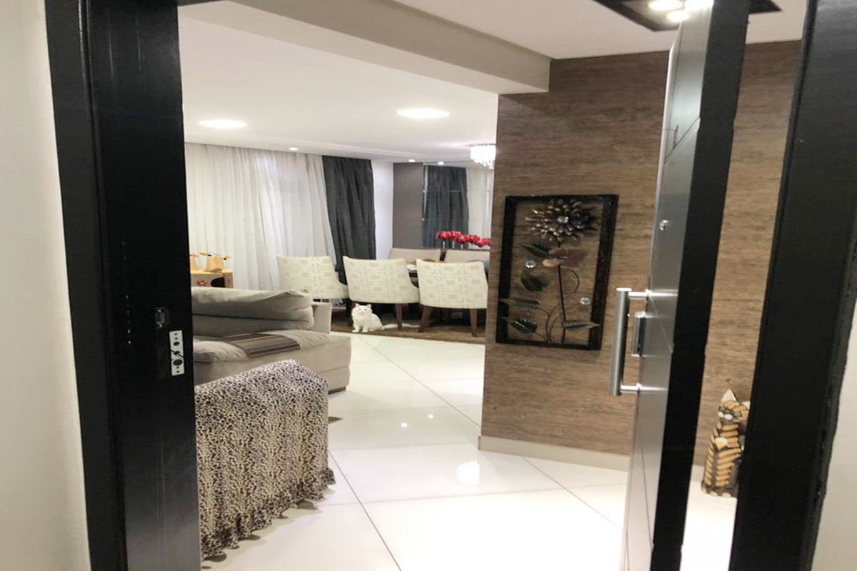 apartamento mobiliado 114m²  varanda gourmet, jardim zaira