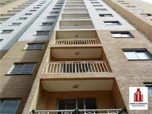 apartamento mobiliado 2 dormitórios para alugar, 49 m² por r$ 280/mês - tatuapé - são paulo/sp - ap1039