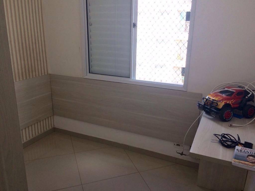 apartamento mobiliado 3 dorms (1 suíte), ponte grande. - ap1354