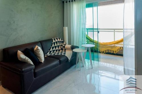 apartamento mobiliado a venda duna barcane ponta negra