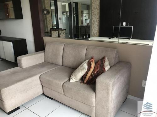apartamento mobiliado a venda em capim macio