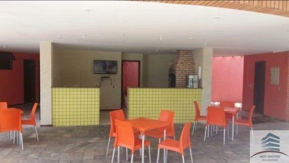 apartamento mobiliado a venda solar brisa da costeira, capim macio