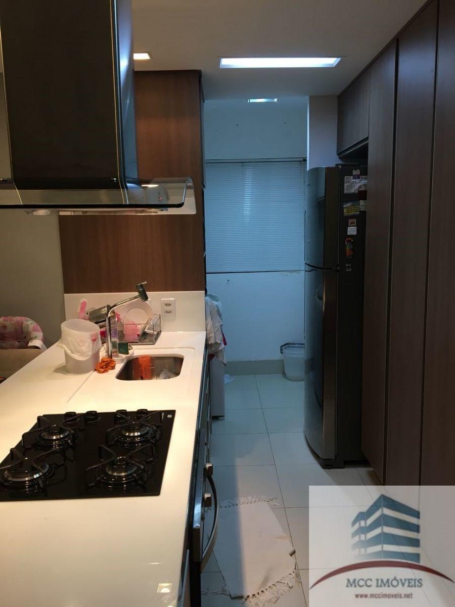 apartamento mobiliado a venda villagio di roma, lagoa nova