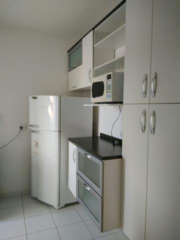 apartamento mobiliado, com 2 dormitórios, 1 vaga, jardim sul - ap9466