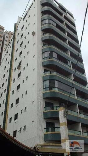 apartamento mobiliado com 2 dormitórios na aviação em praia grande - ap0126