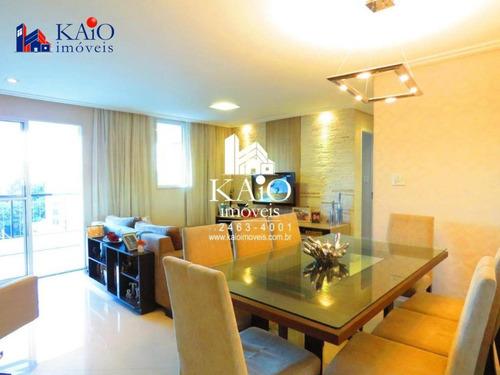 apartamento mobiliado com 2 dormitórios à venda, 83 m²