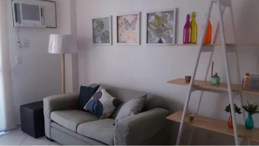 apartamento mobiliado com 2 quartos na rua aroazes