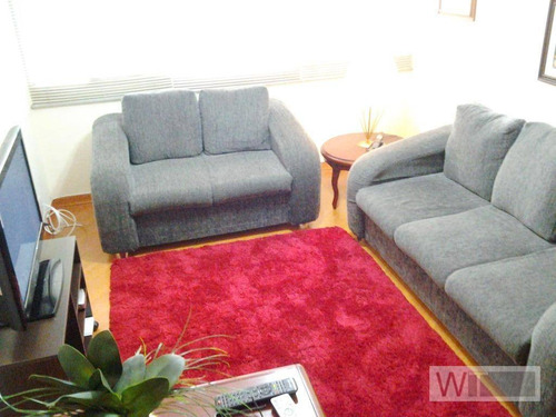 apartamento mobiliado com 3 dormitórios para alugar, 110 m² por r$ 4.000/mês - vila olímpia - são paulo/sp - ap1736