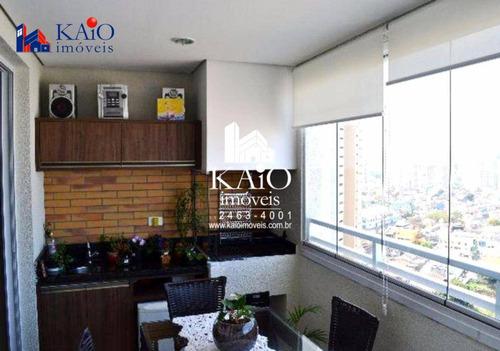 apartamento mobiliado com 3 dormitórios à venda, 95 m²