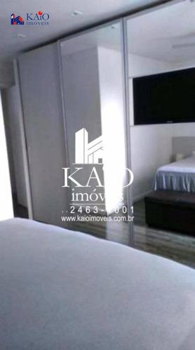 apartamento mobiliado com 3 dormitórios à venda