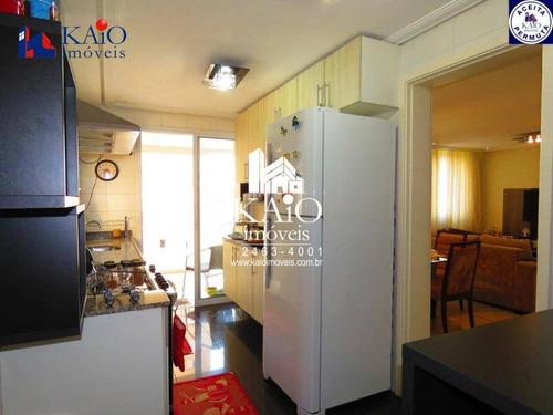 apartamento mobiliado com 3 dormitórios à venda no alegria