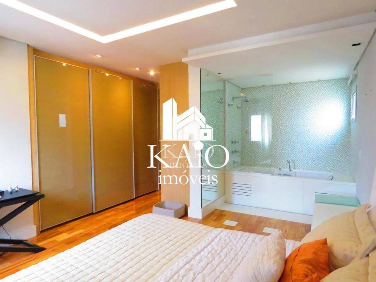 apartamento mobiliado de 166m², 2 suítes, hidro, 4 vagas