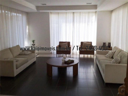 apartamento mobiliado de 166m² com 2 suítes 4 vagas, jardim zaira - ap1031