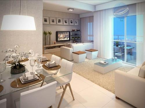 apartamento mobiliado e divinamente decorado, em lagoa nova, com 3 quartos - quartier - ap0001