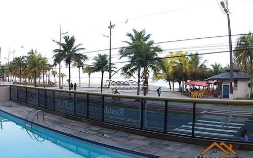 apartamento mobiliado e vista para o mar na tupi em praia grande
