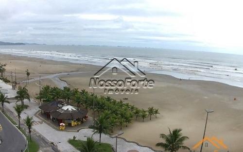 apartamento mobiliado frente para o mar na praia grande