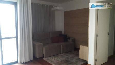 apartamento mobiliado, maravilhoso. - ap0055