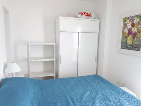apartamento mobiliado  mongaguá , beira mar.ref. 0995 m h