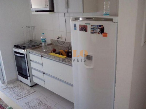 apartamento mobiliado na granja julieta - 461