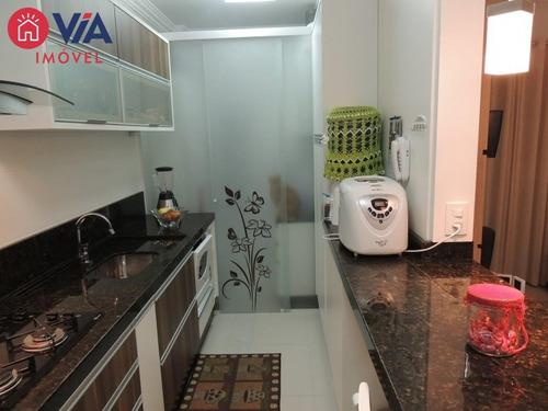 apartamento mobiliado na ressacada - 128