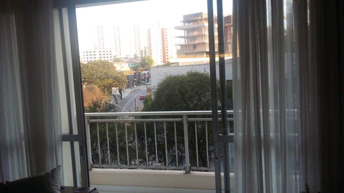 apartamento mobiliado no centro de sbc 2 dormitórios lindo