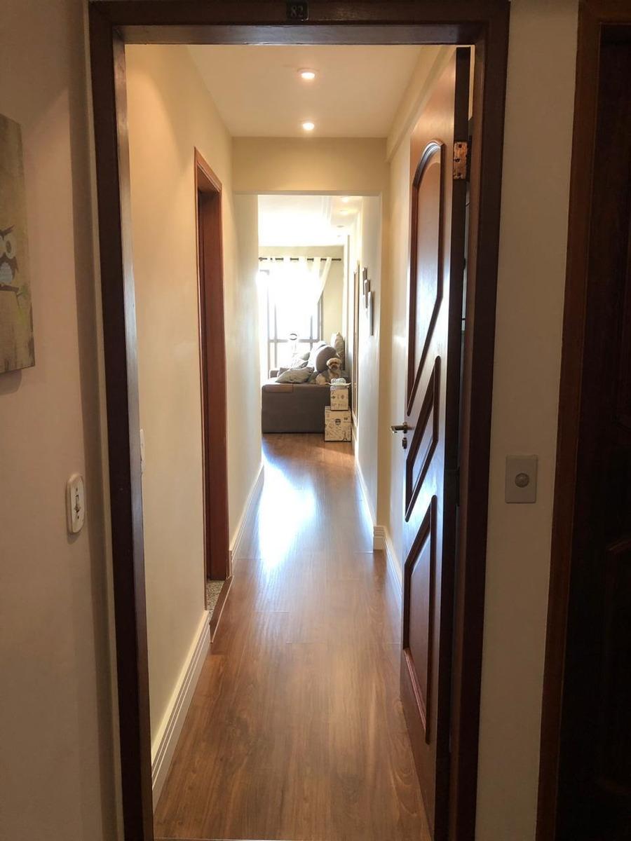 apartamento mobiliado no centro de s.b.c   8º andar