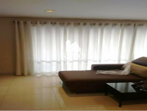apartamento mobiliado no chateau du parc de 111m² com 3 suites 2 vagas, vila progresso - ap0904