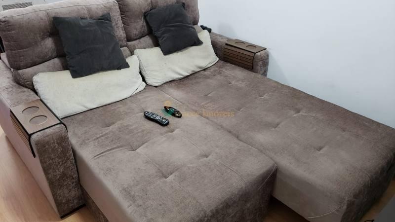 apartamento mobiliado no jardim anália franco, 1 dorm, 1 vaga, 50 ms² - 4283