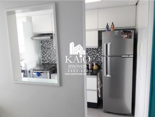 apartamento mobiliado no maximo de 45m² com 2 dormitórios, lazer completo - ap1175