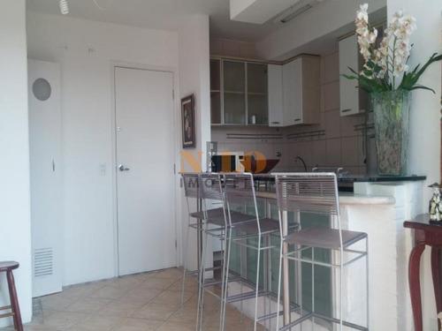 apartamento mobiliado no morumbi - 457