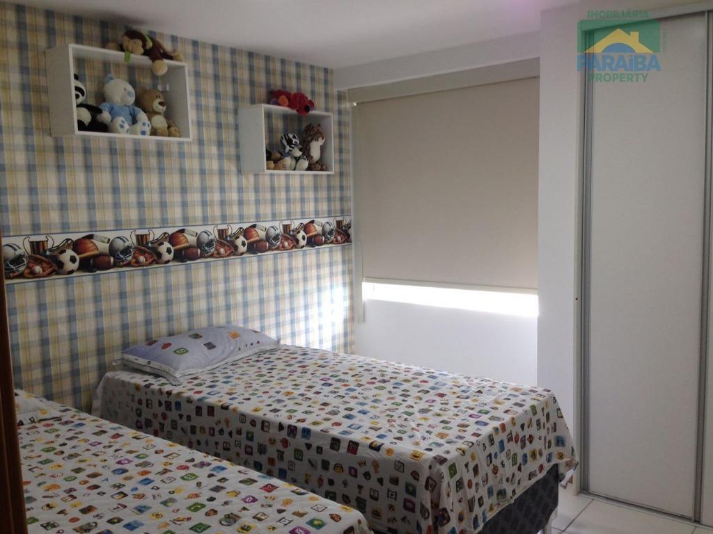 apartamento mobiliado para locação - praia de areia dourada - cabedelo - pb - ap1244